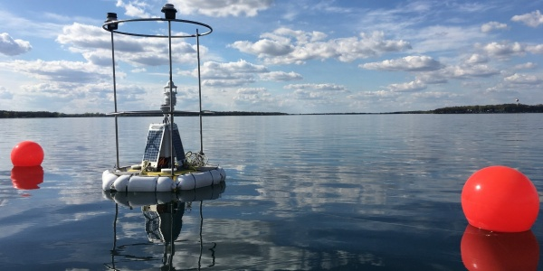 Lakeside GLEON Buoy on West Okoboji